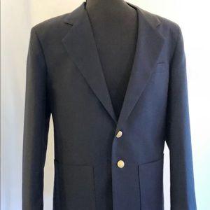 Boy's Van Heusen Navy Blue Notch-Lapel Suit Jacket